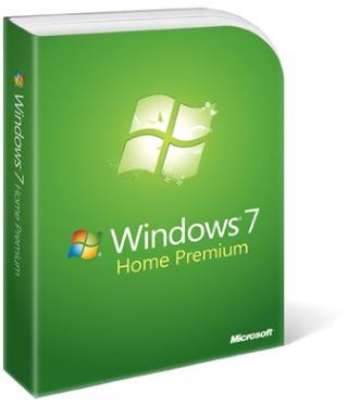 Microsoft Windows 7 Home Premium 64-bit Svensk