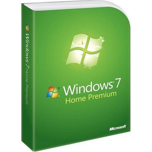 Microsoft Windows 7 Home Premium Engelsk Fullversjon