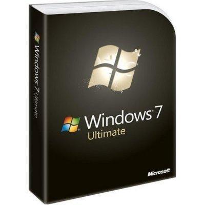 Microsoft Windows 7 Ultimate Engelsk Fullversjon