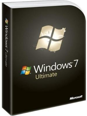 Microsoft Windows 7 Ultimate Engelsk Fullversjon