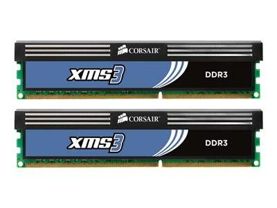 Corsair XMS3 DDR3-1600 CL9 4 GB ( 2x2 GB )