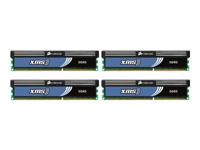 Corsair XMS3 DDR3 1600MHz 8GB CL9 (4x2GB)