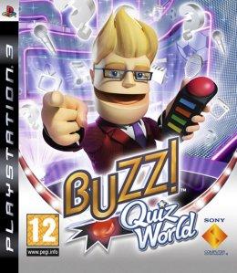 Buzz!: Quiz World (med buzzere) til PlayStation 3