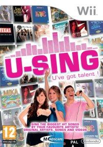 U-Sing (med mikrofon) til Wii