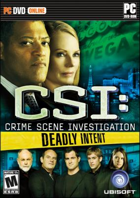 CSI: Deadly Intent til PC