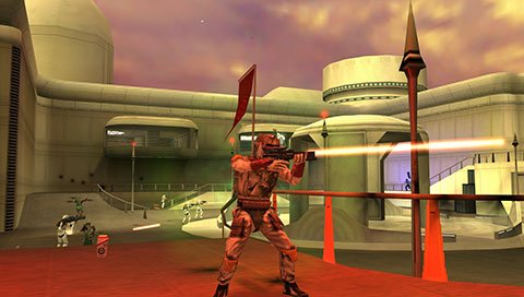 Star Wars Battlefront: Elite Squadron til PSP