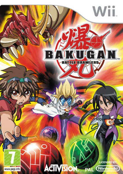 Bakugan: Battle Brawlers til Wii