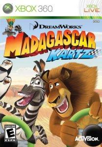 Madagascar Kartz til Xbox 360