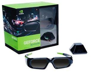 Nvidia Geforce 3D Vision Stereo Glasses