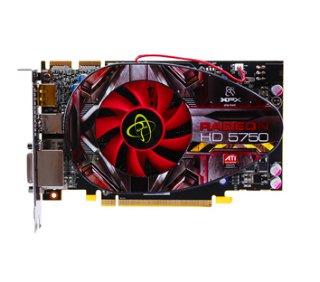 XFX Radeon HD 5750 1024 MB