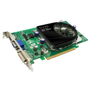 EVGA GeForce GT 220 1024 MB DDR3