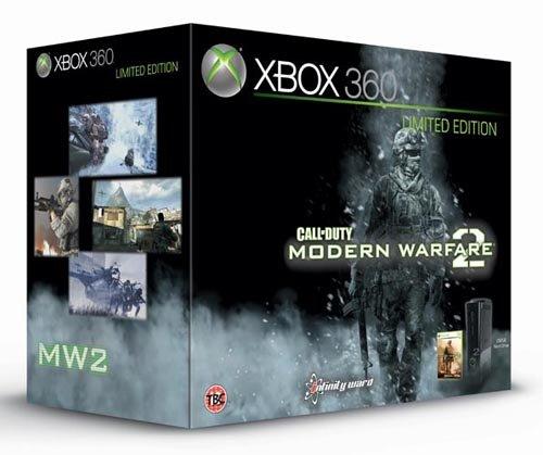 Microsoft Xbox 360 Super Elite COD: MW2