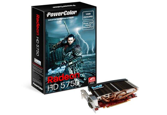 PowerColor Radeon HD 5750 SCS3 1024 MB