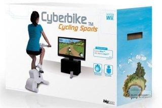Cyberbike (med sykkel) til Wii