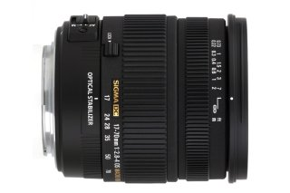Sigma 17-70mm F2.8-4 DC Macro OS HSM for Canon