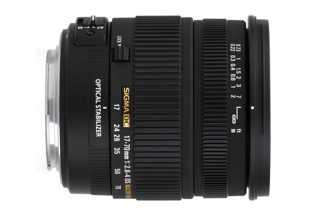 Sigma 17-70mm F2.8-4 DC Macro OS HSM for Nikon