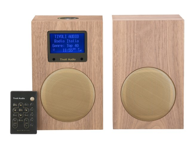 Tivoli Audio Networks + Stereo Classic Walnut