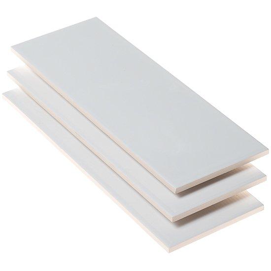 White Glossy 11.8X33