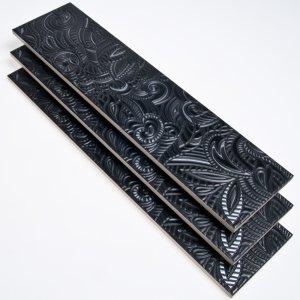 Metropol Ceramica Energy Decor Zea Negro 12.5X50