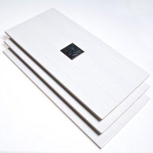 Metropol Ceramica Energy Ventana blanco/taco zea negro 25X50