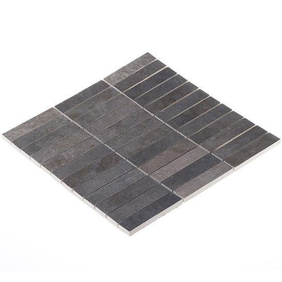 Elios Ceramica 0285 Earth Mosaic Antracite 2,5x10