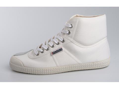 Kawasaki Players Low Boot White