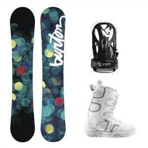 Burton Snowboardpakke Feather, Coco, Cloak