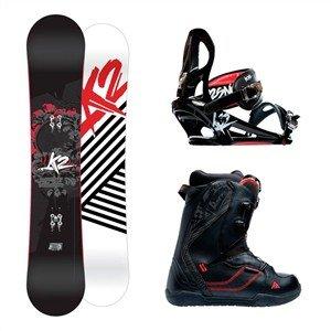 K2 Snowboardpakke Brigade, Pulse, Mach