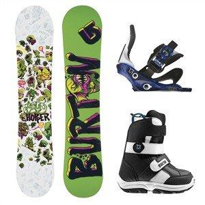 Burton Snowboardpakke Chopper, groom, freestyle jr