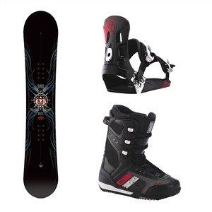 Burton Snowboardpakke Vice, Squadron, FF 1500