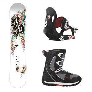 Snowboardpakke ShooterJr, brigade, FF1000