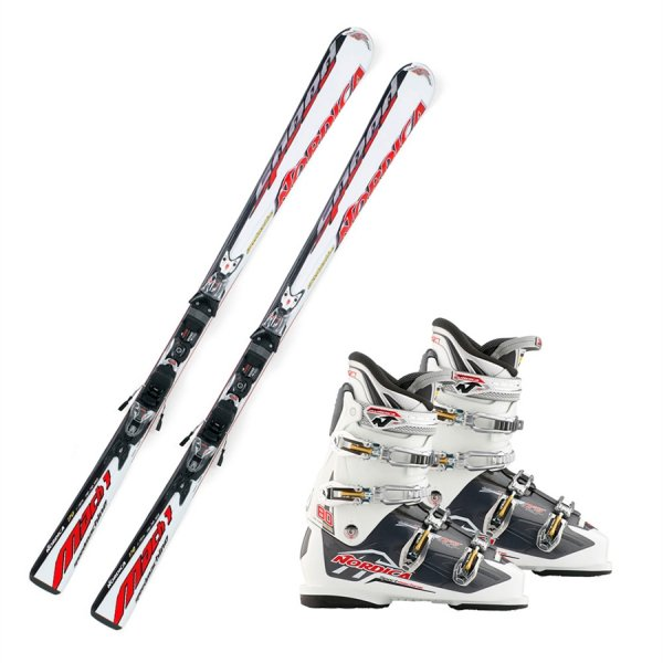 Nordica Alpinpakke Speedmachine Mach 1