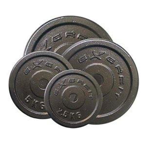 Exerfit Vektskiver 10 kg stål, 25 mm