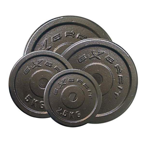 Exerfit Vektskiver 1 kg stål, 25 mm