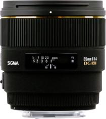 Sigma 85mm F1.4 EX DG HSM for Sony