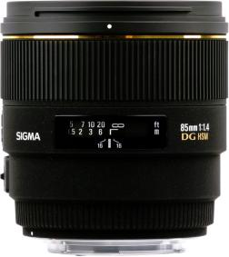 Sigma 85mm F1.4 EX DG HSM for Canon