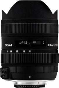 Sigma 8-16mm F4.5-5-6 DC HSM for Nikon