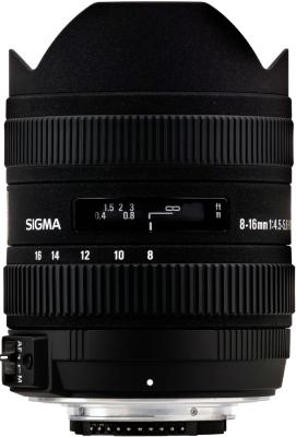 Sigma 8-16mm F4.5-5-6 DC HSM for Canon
