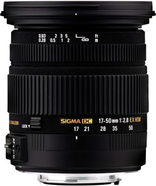 Sigma 17-50mm F2.8 EX DC OS HSM for Canon