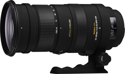 Sigma APO 50-500mm F4.5-6.3 DG OS HSM for Nikon