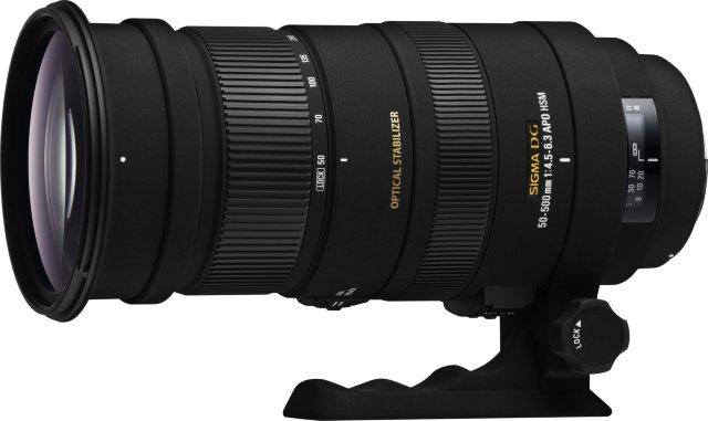 Sigma APO 50-500mm F4.5-6.3 DG OS HSM for Nikon