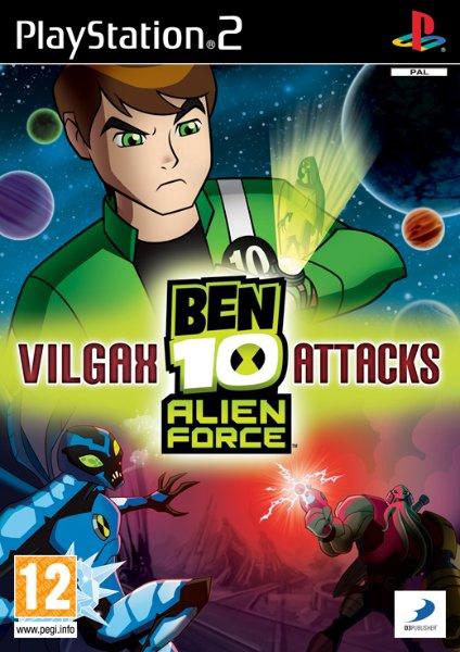 Ben 10 Alien Force: Vilgax Attacks til PlayStation 2