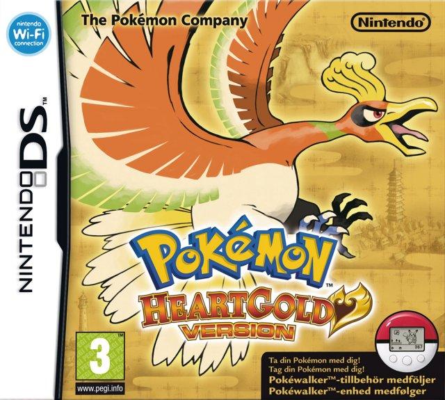 Pokémon HeartGold Version til DS
