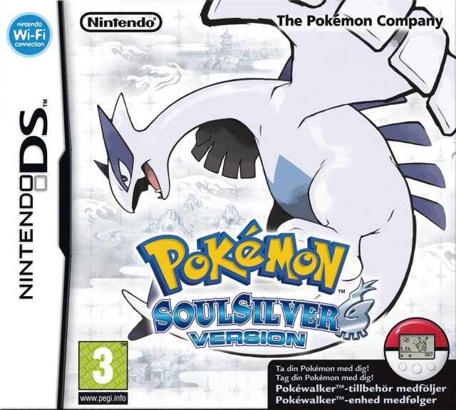 Pokémon SoulSilver Version til DS