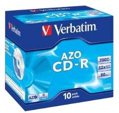 Verbatim CD-R 52x 700MB 10 stk.