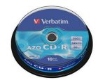Verbatim CD-R 52x 700MB 10 stk Spindle