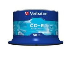 Verbatim CD-R 52X 700MB 50 stk Spindle