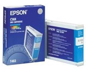 Epson T463 Cyan