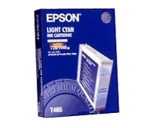 Epson T465 Lys Cyan