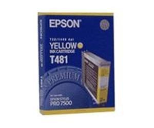 Epson T481 Gul